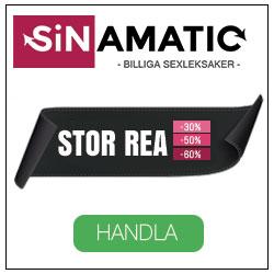 Köp dina sexleksaker hos Sinamatic.
