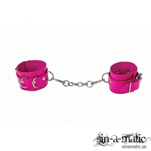 Rosa Handbojor i Läder ifrån Shots Toys