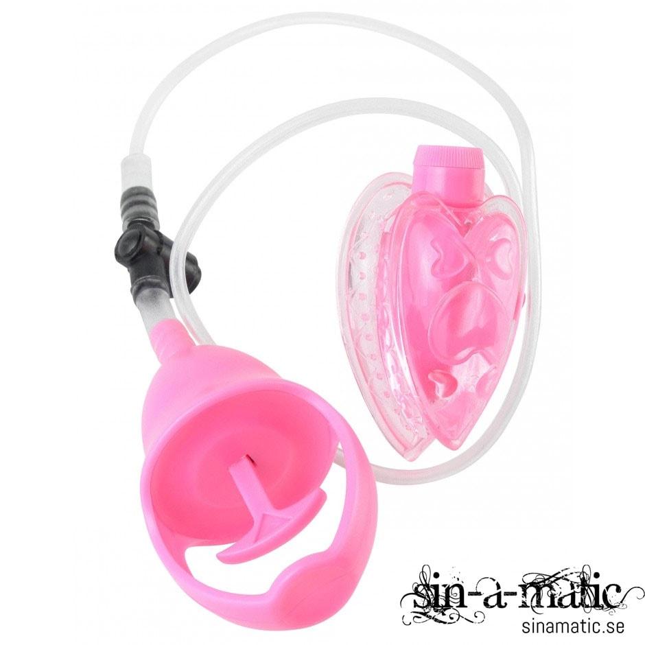Fetish Fantasi pussy pump, vaginapump med vibrator