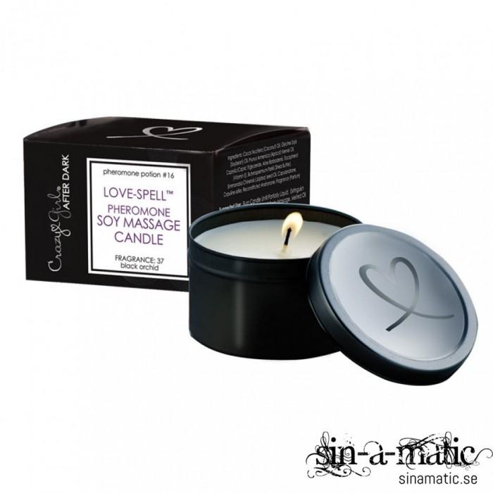 Crazy Girl Love Candle - massageljus med feromoner