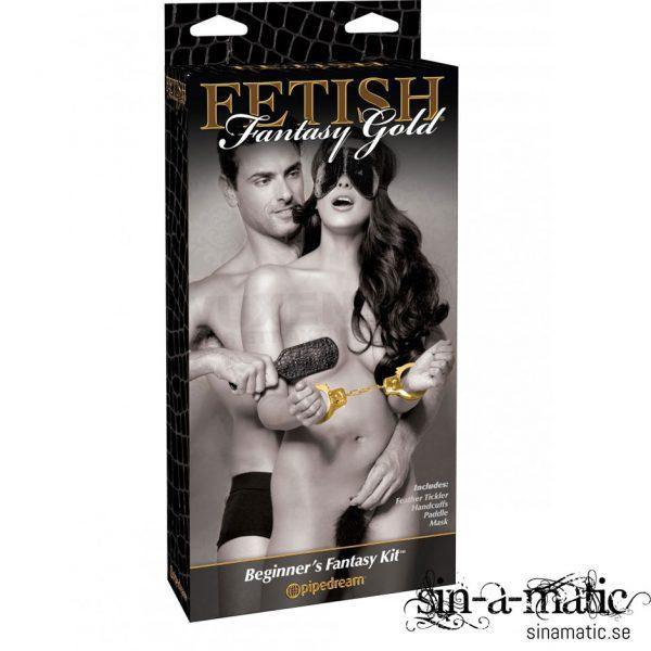 Fetish fantasy Gold, bondage kit för nybörjare & erfarna