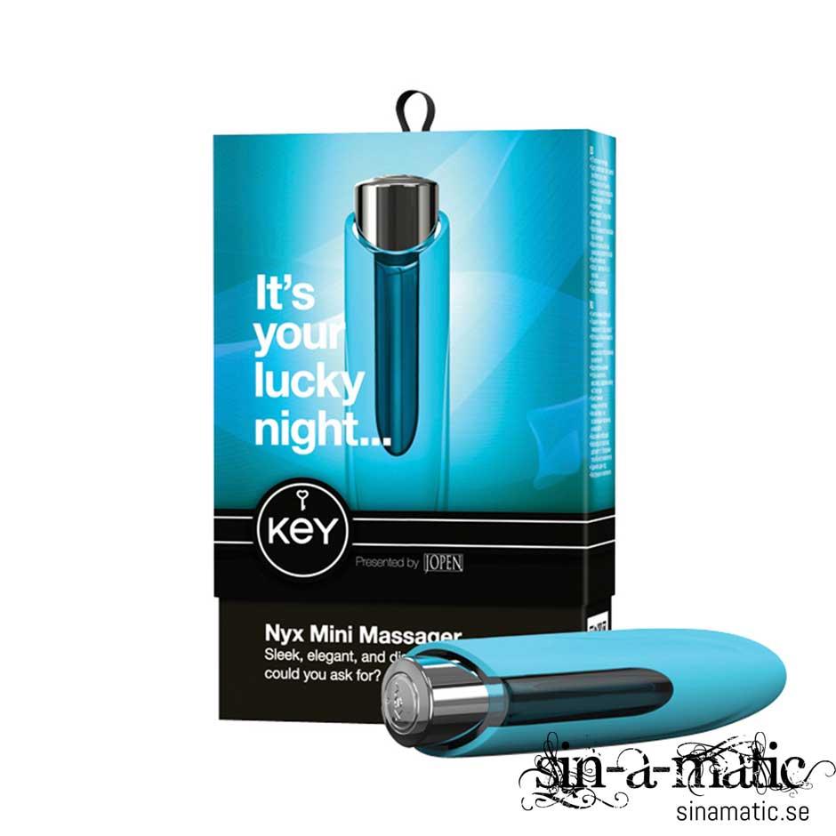 Jopen, KEY NYX - vattentär minivibrator för klitoris
