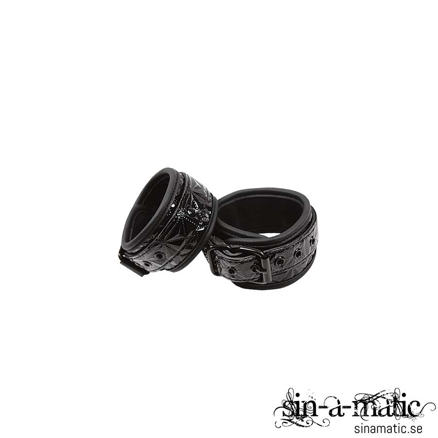 SINFUL BLACK WRIST CUFFS