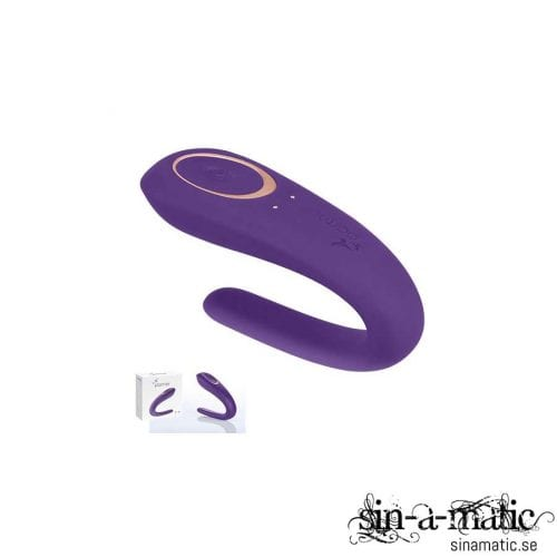 Partner Couples Vibrator Plus - en vibrator för par, den perfekta parleksaken