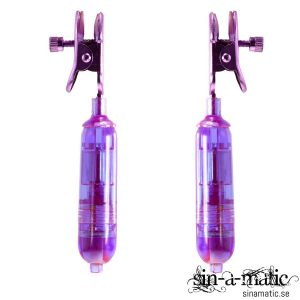 Squeeze n Please Vibrating Nipple Clamps