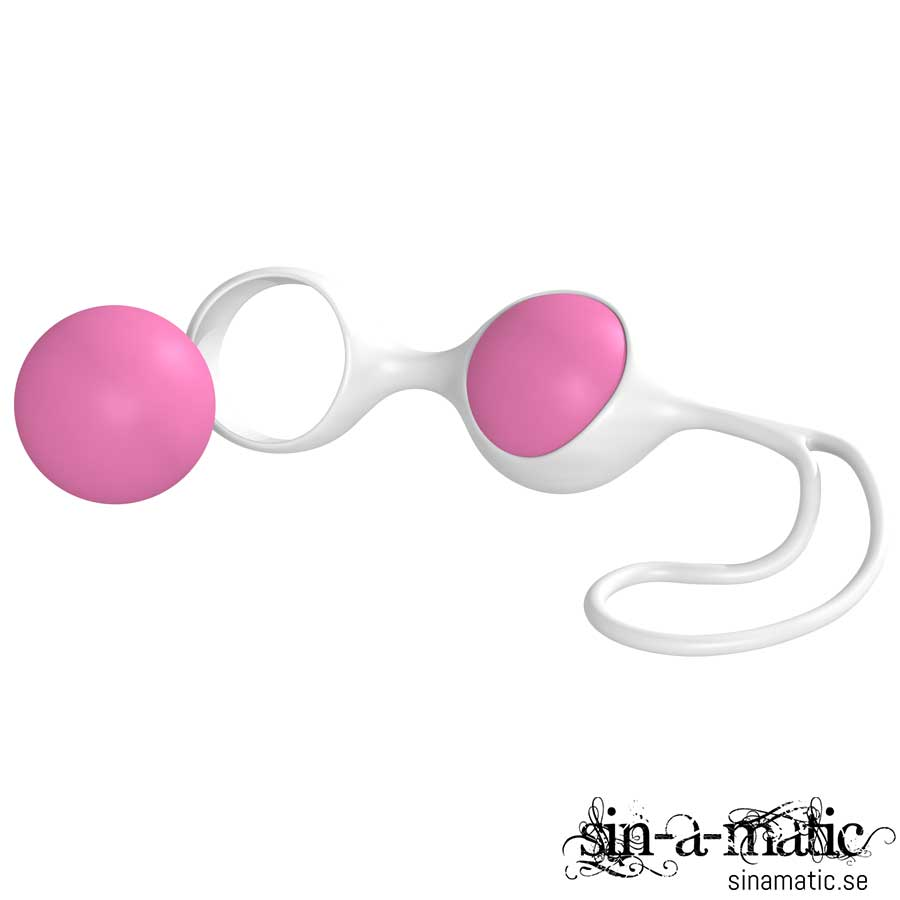Discretion Love Balls Pink White