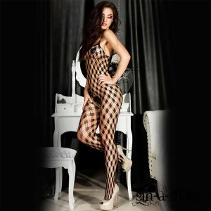 Bodystocking Squares ifrån Chili Rose
