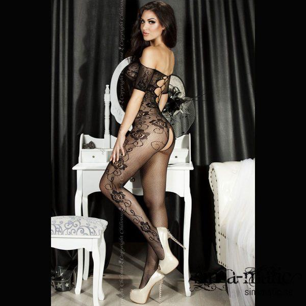 Bodystocking - Flower Power, sexiga underkläder på Sinamatic.se
