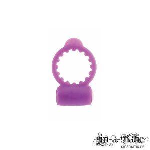 Neon Luv Cock Ring - Purple