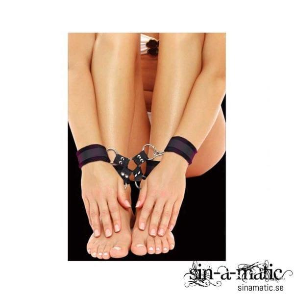OUCH! VELCRO HAND AND LEG CUFFS | Sexleksaker för Bondage på Sinamatic.se