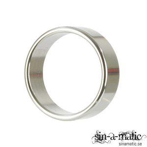 Penisring i polerad metall, storlek XL | Sinamatic.se