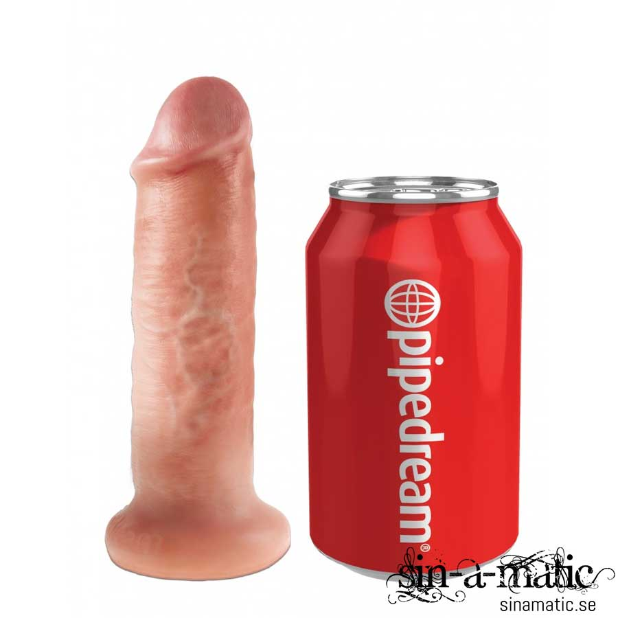 "King Cock Vibrating Mini Sex Ball with 6"" Dildo"