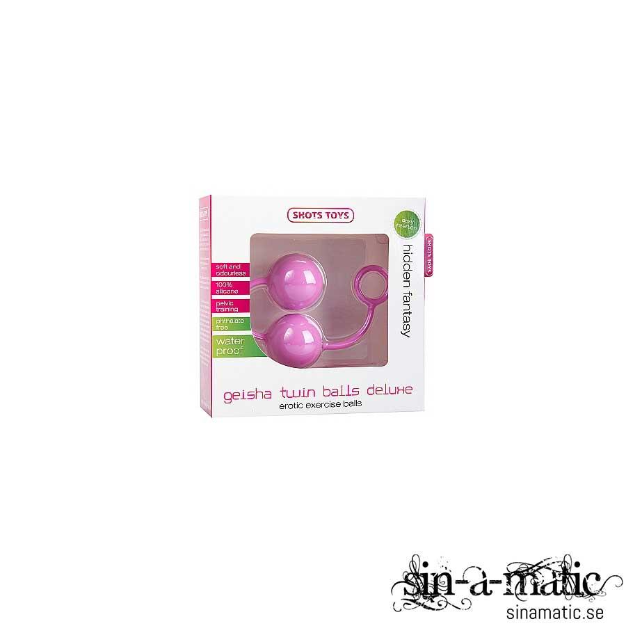 Geisha Twin Balls Deluxe, pink
