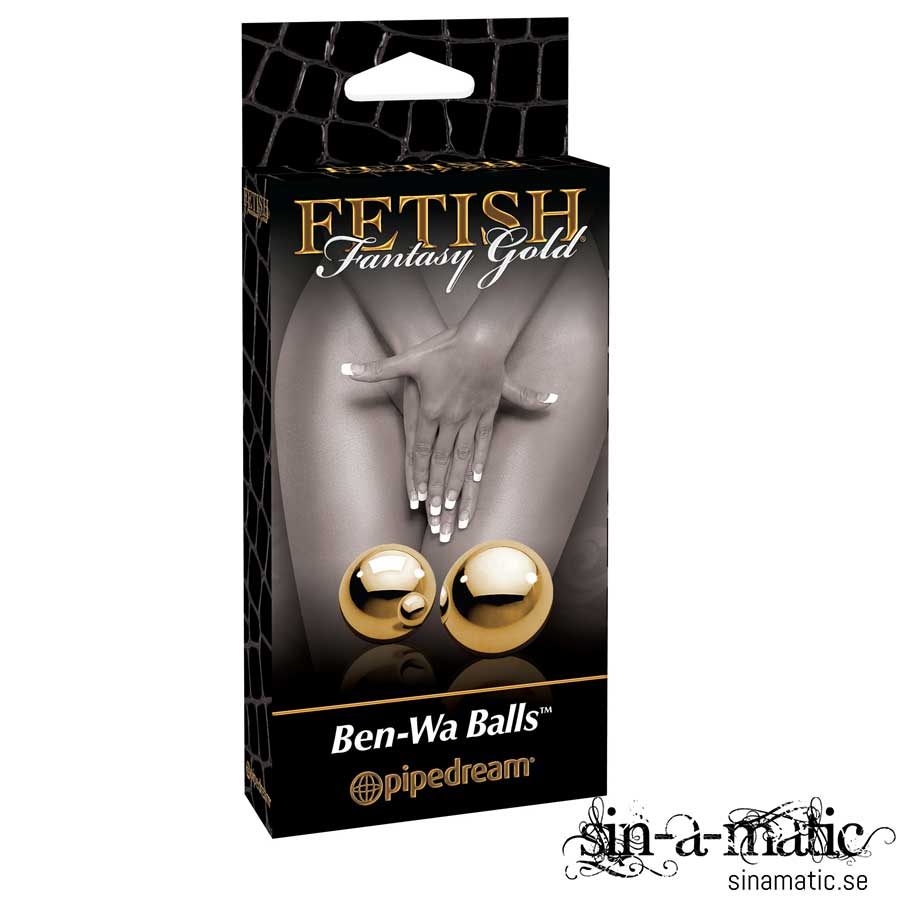 Fetish Fantasy Gold Ben Wa Balls