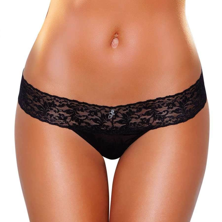 Hustler Wireless Remote Control Panties - Black