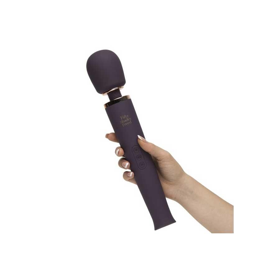 Fifty Shades Freed Awash with Sensation Wand Vibrator