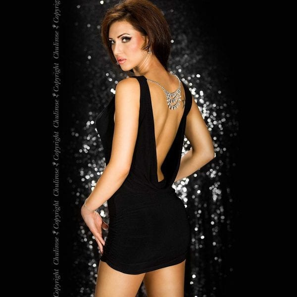 Chili Rose Black dress and jewelery