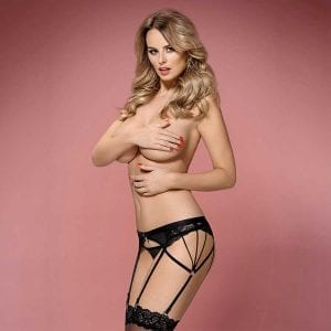 Obsessive Garter Belt and thong
