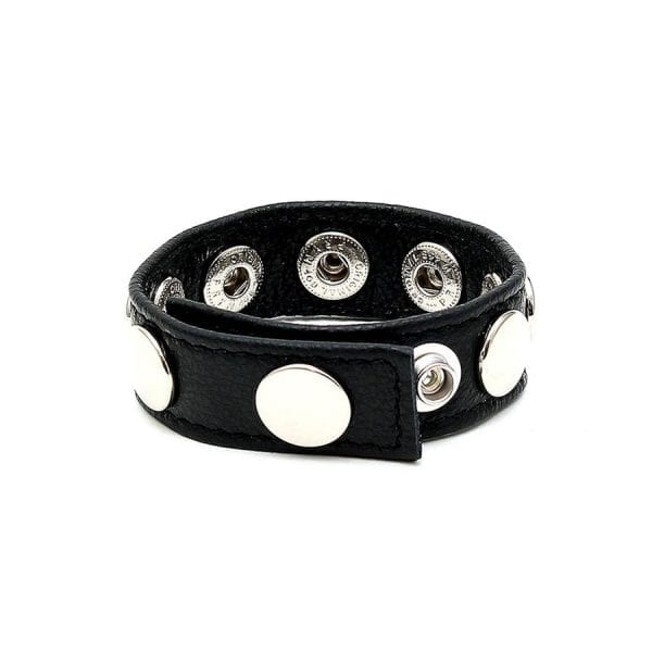 Rimba Leather Ring, adjustable