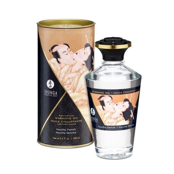 Shunga Massageolja, vanilj