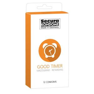 Secura Good Timer, kondomer