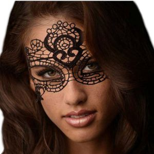 Enchanted Black Lace Mask
